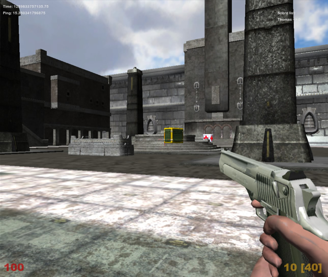 Unity Examples: First Person Shooter